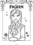 olaf frozen coloring free printable coloring pages