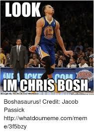 Chris Bosh Meme - look chris bosh brought by facebook comnbamemes hatip im