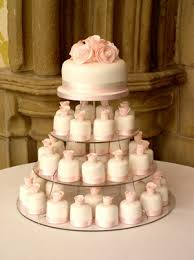wedding cake and cupcake ideas charmeuse wedding gown