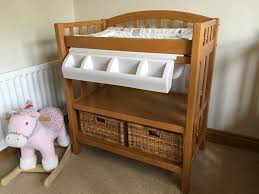 baby changing table dresser combo drop c throughout oak prepare Oak Baby Changing Table