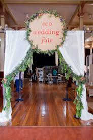 wedding backdrop brisbane brisbane goes green at eco wedding fair planning a sustainable