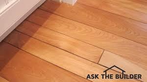 Repair Hardwood Floor How To Repair Hardwood Floor Cracks Ask The Builderask The Builder
