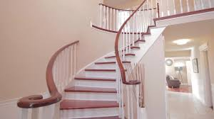 Crescent Stairs by 9 Long Island Crescent Markham Youtube