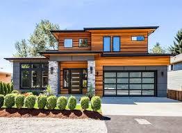modern prairie house plans modern prairie house plan with tri level living 23694jd