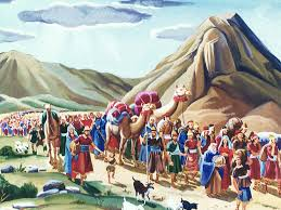 free bible images god announces the ten commandments on mount
