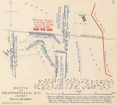 North Carolina State Parks Map by Battle Of Bentonville Wikipedia