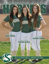 2014 sacramento state softball media guide by hornet sports issuu