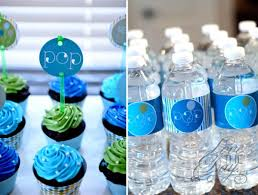 blue baby shower kara s party ideas ready to pop blue green baby shower