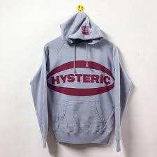 hysteric glamour hysteric glamour hoodie sweatshirt size m