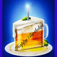 birthday thanksgiving message happy birthday beer glass cake birthday wishes pinterest