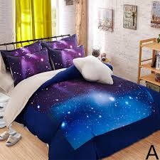 Galaxy Themed Bedroom Hipster Galaxy 3d Bedding Set Universe Outer Space Themed Galaxy