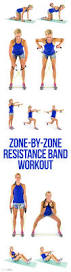 Chair Resistance Band Exercises 4 Toning Moves You Can Do With A Chair Chair Exercises