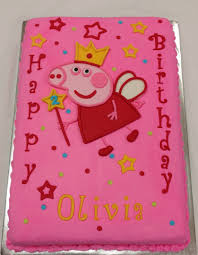 girls cakes 4 doc mcstuffins dr seuss kitty peppa pig