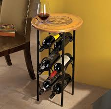 create creative diy wine rack table invisibleinkradio home decor