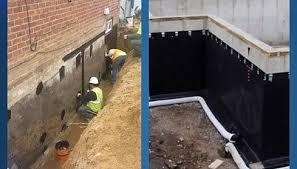 basement contractors basement waterproofing water damage repairs