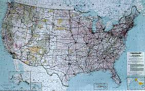 map of america showing states and cities maps of the united states brochure