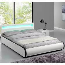 Schlafzimmer Komplett Lederbett Polsterbetten Amazon De