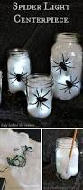 Halloween Spider Lights by 30 Best Diy Mason Jar Halloween Crafts Ideas And Designs For 2017