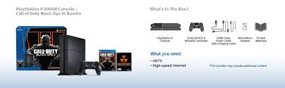 amazon ps4 black friday 2017 amazon com sony playstation 4 500gb bundle with call of duty