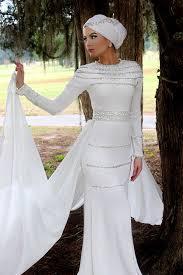 muslim wedding dress 10 brides wearing hijabs on their big day look absolutely