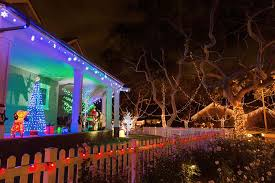 photo guide to california lights and decorations