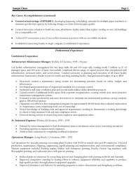 cover letter manufacturing resume samples pharmaceutical