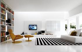 White Leather Sofa Living Room Ideas by Decoration Ideas Attractive Room Interior Design In Living Room