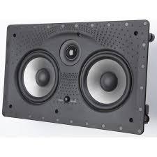 modern speakers modern interior design with in wall center channel speaker polk
