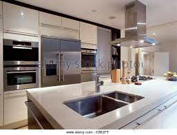 kitchen island extractor kitchen island large extractor fan stock photos kitchen island