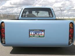 custom truck tail lights custom 1991 toyota pickup construction zone mini truckin magazine