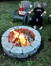 Large Fire Pit Ring by Diy Fire Pit In Under Two Hours 1915 House