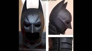 batman the dark knight rises prop replica cowl armor 1 1 life size