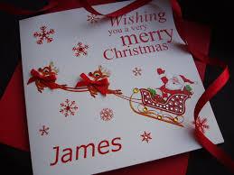 handmade children u0027s christmas cards personalised handmade