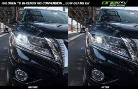 Custom Car Lights Oneighty Nyc 2014 Nissan Pathfinder Custom Headlights
