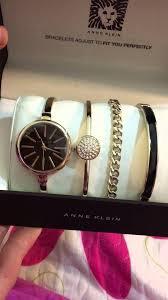 anne klein bracelet gold images Anne klein women 39 s ak 1470 watch and bracelet set jpg