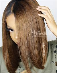 ambra hair valentine s malaysian ombre hair bob lace front wig lfw007