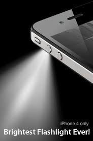 turn light on iphone turn your iphone 4 s led light into flashlight with free app