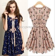 fashion ladies pink summer party dresses mi lu design casual