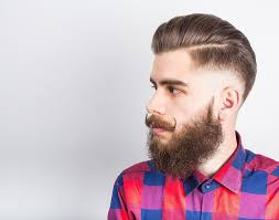 how to wesr thin wiry hair natural how to straighten your curly beard 5 simple ways beardoholic