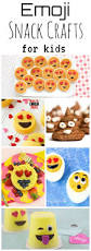 emoji snack crafts for kids emoji snacks and icons
