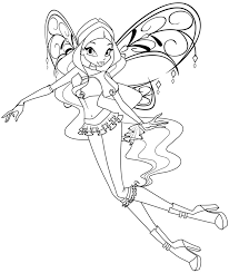 pages of winx club in enchantix
