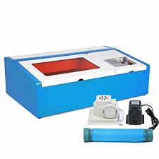 amazon com cncshop laser engraving machine laser cutting machine
