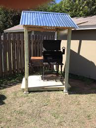 Diy Backyard Grill by Check Out This Diy Bbq Pit Cover Made By Eric Gentry In Manchaca