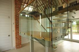 elegant glass stair railing home design picture of stairs loversiq