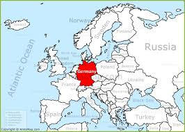 map of germany in europe germany on the europe map annamap