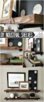 diy industrial shelves industrial shelving super easy and