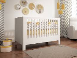 Kidco Convertible Crib Rail by Beautiful Nursery With Cupcake Collection Model 710 From
