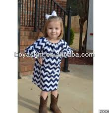 baby dress cutting chevron baby winter dresses 100 cotton