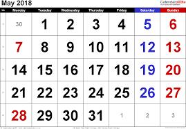 may 2018 bank dates 2018 calendar with holidays