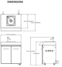 module cuisine napoleon module de cuisine série mirage od ksm100